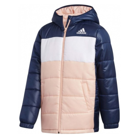 adidas YK J SYNTHETIC light pink - Children's winter jacket