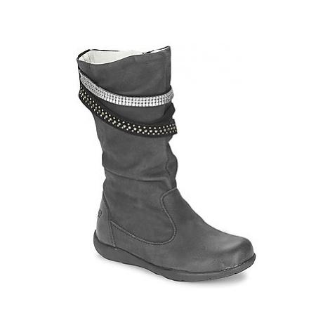 Primigi CHARLIZE girls's Children's High Boots in Black