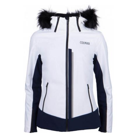 Colmar L.SKI JACKET+FUR white - Women's ski jacket