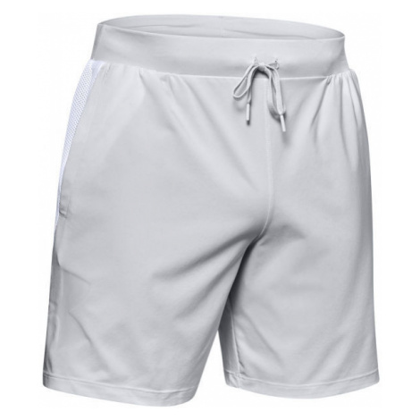 Under Armour QUALIFIER SPEEDPOCKET 7'' LINERLESS grey - Men's shorts