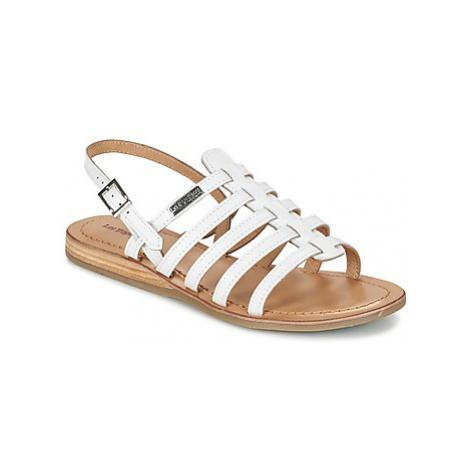 Les Tropéziennes par M Belarbi HAVAPO women's Sandals in White