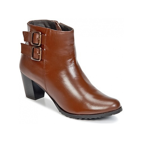 Balsamik ASAPAG women's Low Ankle Boots in Brown