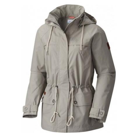 Columbia REMOTENESS JKT gray - Women's water resistant jacket