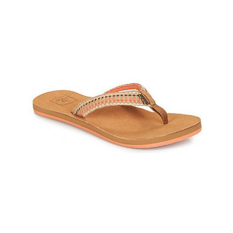 Reef GYPSYLOVE women's Flip flops / Sandals (Shoes) in Pink