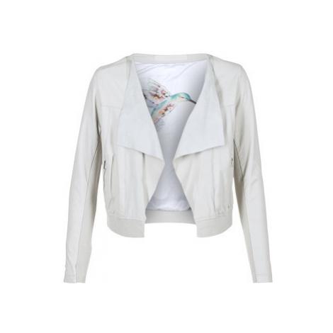 Oakwood 62266 women's Leather jacket in White