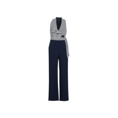 Lauren Ralph Lauren STRIPED JERSEY JUMPSUIT women's Jumpsuit in Blue