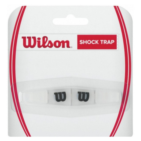 Wilson SHOCK TRAP CLEAR WITH BLACK W - Tennis vibrastop