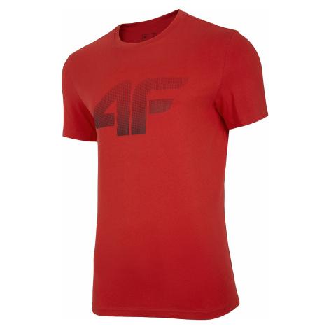T-Shirt 4F NOSH4-TSM004 - 62S/Red - men´s