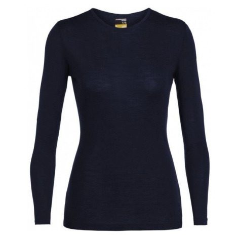 Icebreaker EVERYDAY LS CREWE blue - Women's functional merino T-shirt Icebreaker Merino