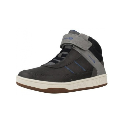 Geox MECE J MALTIN BOY boys's Children's Shoes (High-top Trainers) in Grey