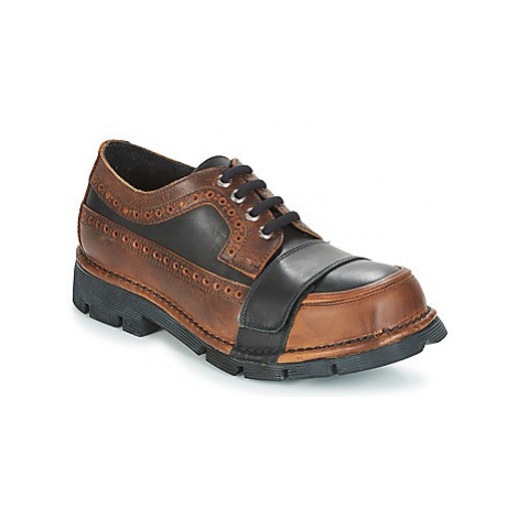 New Rock FERMNA men's Casual Shoes in Brown