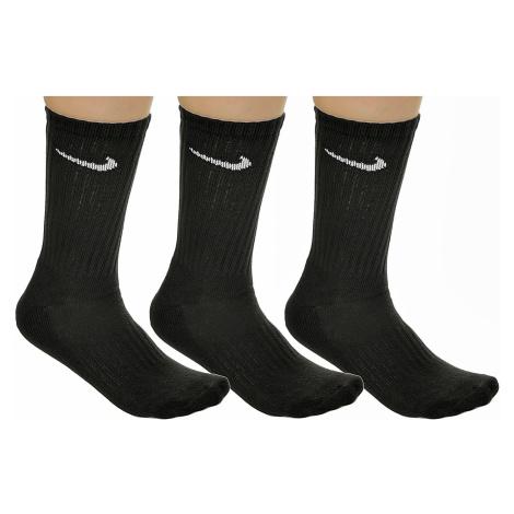socks Nike Value Cotton Crew 3 Pack - 001/Black/White