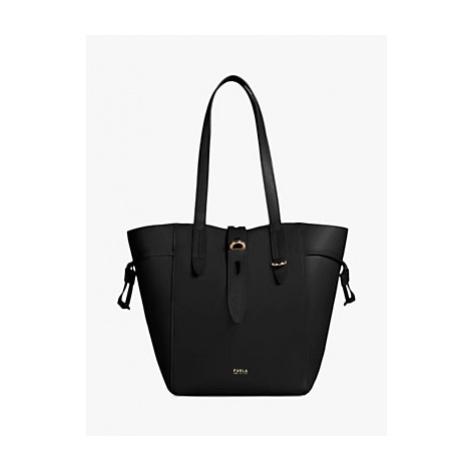 Furla Net Leather Tote Bag