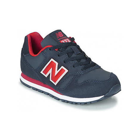 New Balance 373 girls's Children's Shoes (Trainers) in Blue