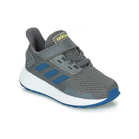 Adidas DURAMO 9 I boys's Children's Sports Trainers in Grey