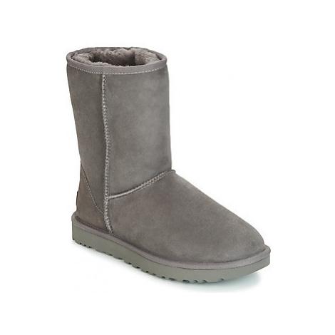 UGG CLASSIC SHORT II women's Mid Boots in Grey