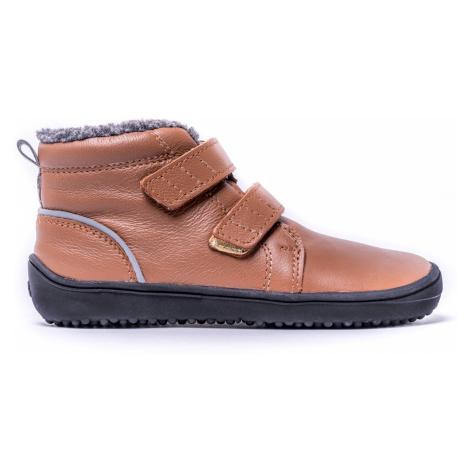 Be Lenka Kids Winter barefoot - Penguin - Chocolate 35