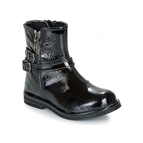 Citrouille et Compagnie LIMIDOU girls's Children's Mid Boots in Black