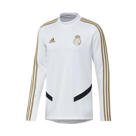 Real Madrid LS Training Top - White Adidas