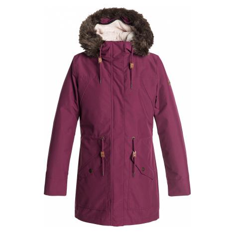 jacket Roxy Amy 3 In 1 - RRV0/Beet Red - women´s