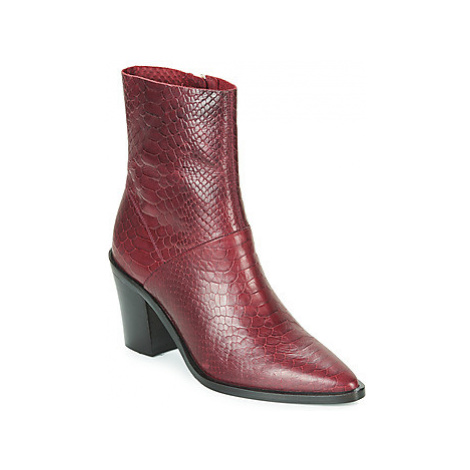 Bronx NEW AMERICANA LOW women's Low Ankle Boots in Bordeaux