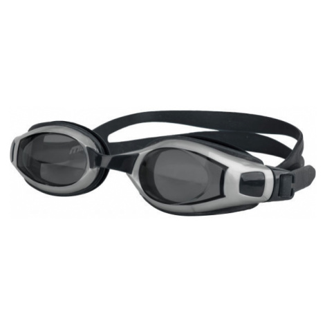 Black equipment for swimming and diving