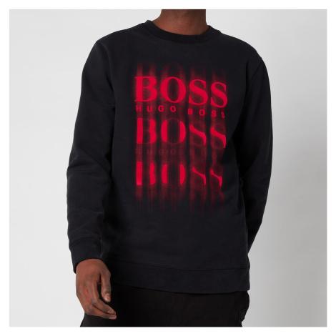 BOSS Casual Men's Wblurry Sweatshirt - Black Hugo Boss