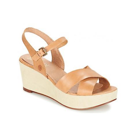 Casual Attitude GERTE women's Sandals in Beige