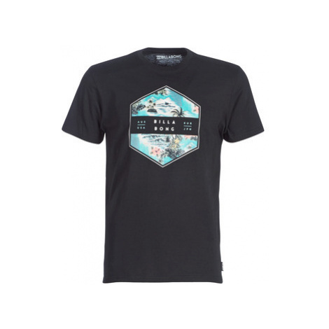 Billabong ACCESS TEE SS men's T shirt in Black