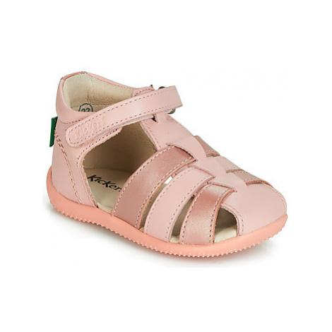 Kickers BIGFLO girls's Children's Sandals in Pink