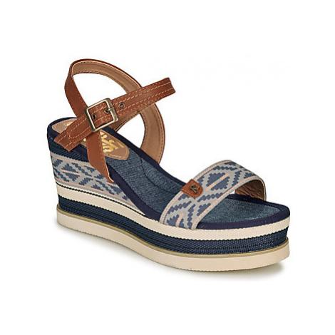 Refresh 69911 women's Sandals in Blue