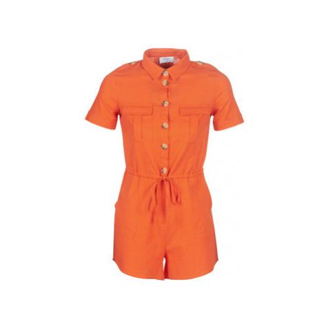 Betty London KOTILE women's Jumpsuit in Orange