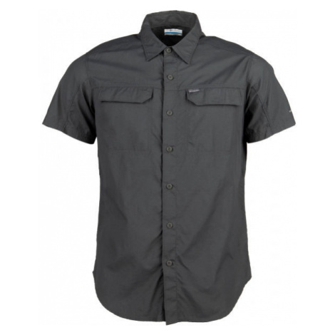 Columbia SILVER RIDGE 2.0 SHORT SLEEVE SHIRT dark gray - Men's long sleeve shirt
