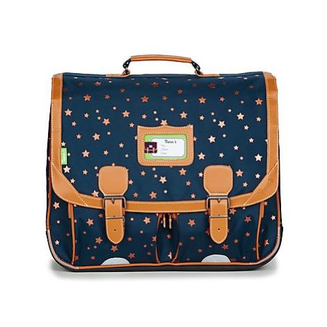 Tann's ETOILE MARINE CARTABLE 41CM girls's Briefcase in Blue
