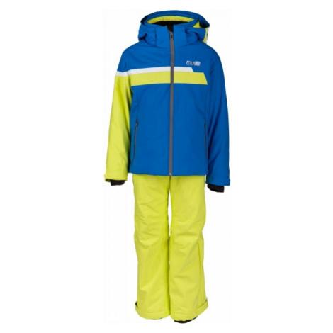 Colmar KIDS BOY 2-PC SUIT yellow - Boys' skiing suit