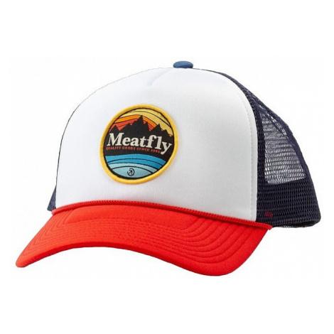 cap Meatfly Brisk Trucker - C/Blue/Red/White