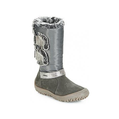 Primigi INGA-E GORE-TEX girls's Children's Snow boots in Grey