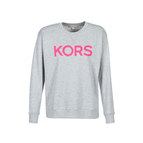MICHAEL Michael Kors KORS LOGO SWEATSHIRT women's Sweatshirt in Grey