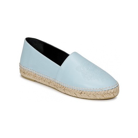 Kenzo TIGER NAPPA LEATHER women's Espadrilles / Casual Shoes in Blue