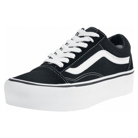 Vans - Old Skool Platform - Sneakers - black-white