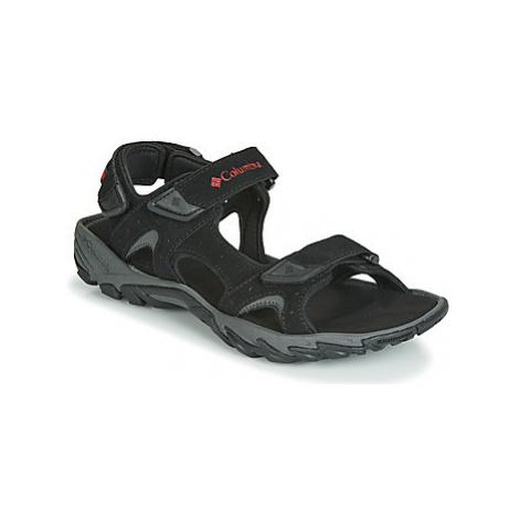 Columbia SANTIAM 3 STRAP men's Sandals in Black