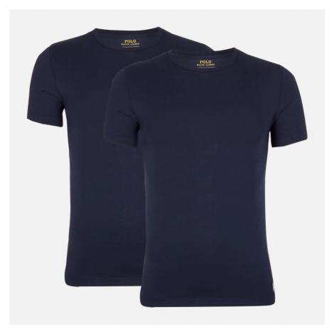 Polo Ralph Lauren Men's 2 Pack Crew T-Shirts - Cruise Navy