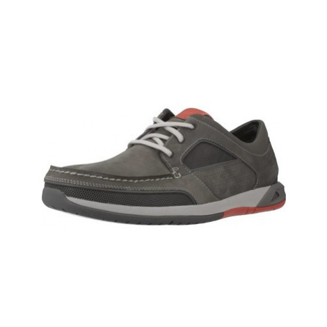 Clarks ORMAND SAIL men's Shoes (Trainers) in Grey