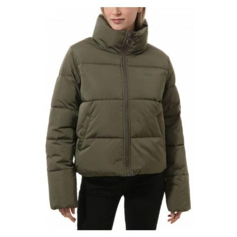 Vans WM FOUNDRY PUFFER dark green - Women's winter jacket