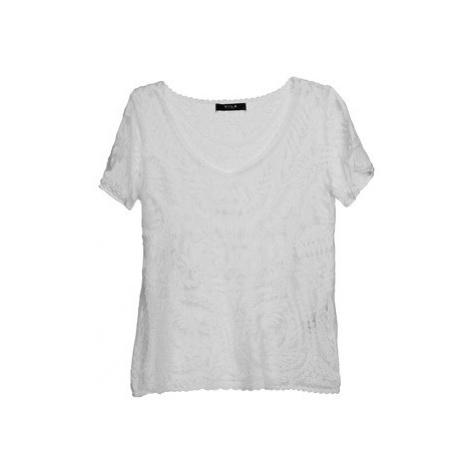 Vila VILACIO women's T shirt in White