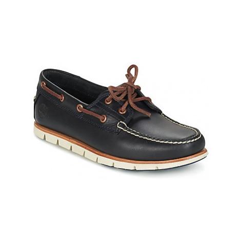 Timberland TIDELANDS 2 EYE men's Boat Shoes in Blue