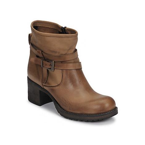 Sweet Lemon EDWENA women's Low Ankle Boots in Brown