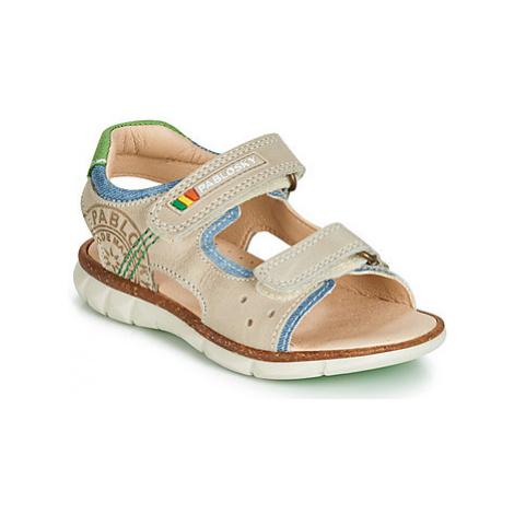 Pablosky 58336 boys's Children's Sandals in Beige
