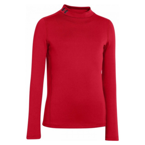 Under Armour CG EVO FITTED LS MOCK red - Boys' Tee