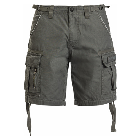 Black Premium by EMP - Army Vintage Shorts - Girls shorts - olive